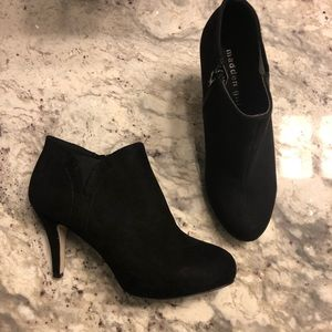 Madden Girl Booties - Size 7 - Black Suede
